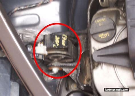 engine mounting rusak suzuki karimun estilo panduan