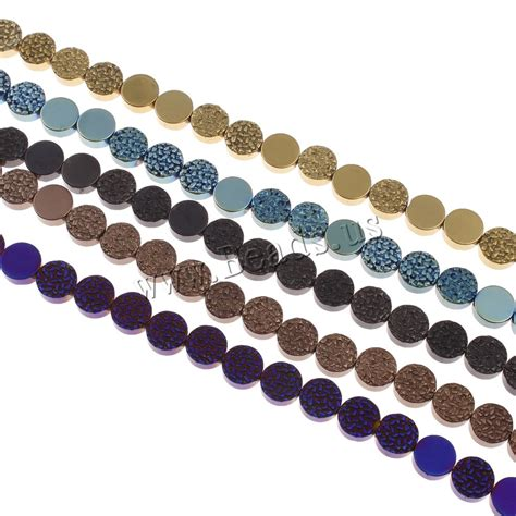 magnetic bead non magnetic hematite painted china wholesale