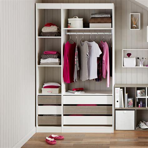 form perkin oak effect wardrobe storage unit kit h 2008mm