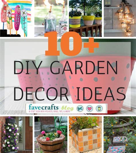 Diy Garden Decor Projects Diy Garden Decor Ideas You Ll Totally Dig Favecrafts