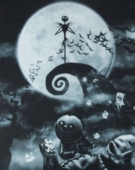 Nightmare Before Free - official nightmare before characters sublimation
