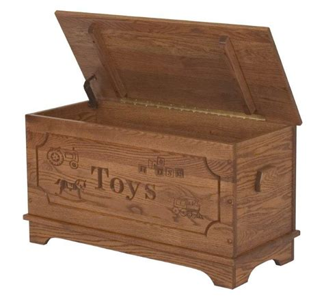 kids furniture toy box  carving option