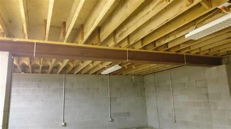 basement floor joists beam sizing problem intermediate complexity optimization