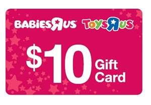 free 10 gift cards at babies r us for babies born in 2013