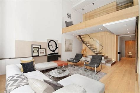 Interior Stairs Design In Duplex Apartments Modern Interior Design Of A Duplex Apartment In New York
