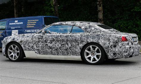 Rolls Royce Wraith Cabrio Erlkoenig Rolls Royce Wraith Drophead Cabrio Bild 15