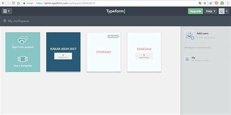cara membuat typeform what student do
