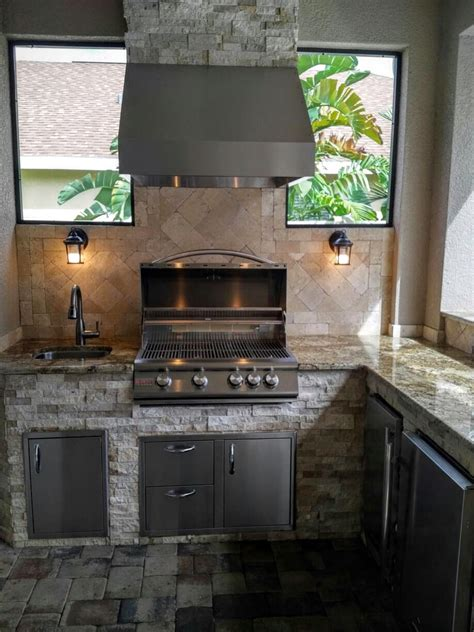 outdoor kitchen backsplash creative outdoor kitchens backsplash creative outdoor kitchens