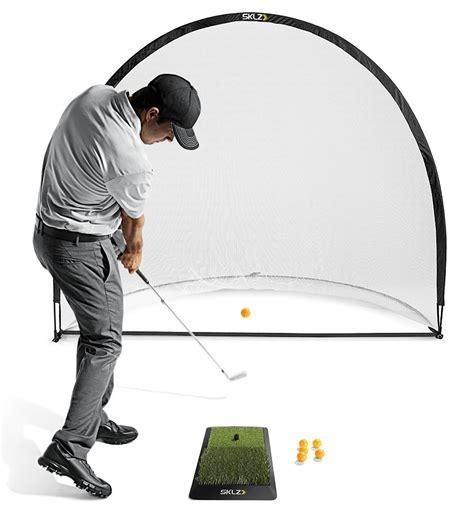 3 in 1 golf practice set mat driving net chipping net bag