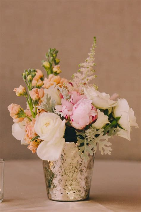Flowers In Vases For Centerpieces by Diy Mercury Glass Centerpiece Vases For Your Rustic Chic