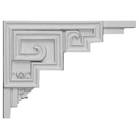 stair r ekena millwork stair bracket primed polyurethane sb09x06er r primed polyurethane