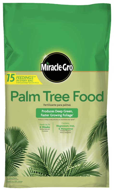 miracle gro palm tree food