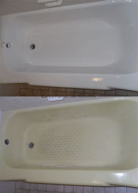 refinish bathtub kit before after 171 bathtub refinishing tile reglazing