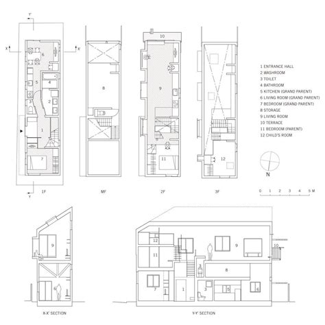 section plan of house aeccafe archshowcase
