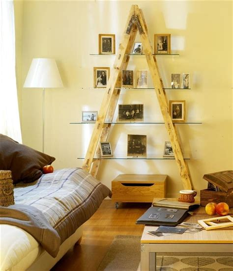 Diy Living Room Projects by Diy Ladder Shelf Ideas Easy Ways To Reuse An Ladder At Home