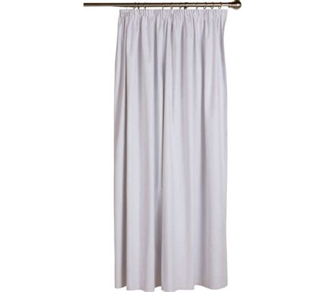 black out curtains argos buy home pleat top blackout curtain lining 168x178cm