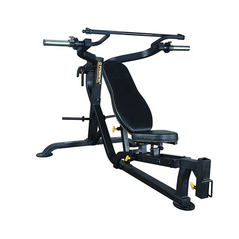 powertec bench press powertec workbench multipress with isolateral arms wb