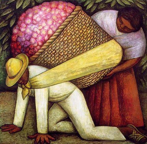 Diego Rivera Famous Artwork by Garden Of Praise Diego Rivera Artist