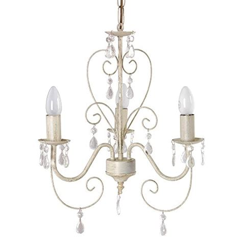 ceiling light chandelier ornate vintage style shabby chic 3 way ceiling light chandelier with beautiful acrylic jewels