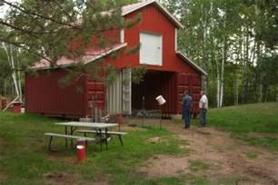 shipping container cabin barn chicken residences