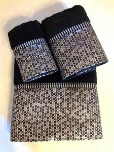 black and bath towels black and silver chevron bath towels by ladydiblankets on etsy