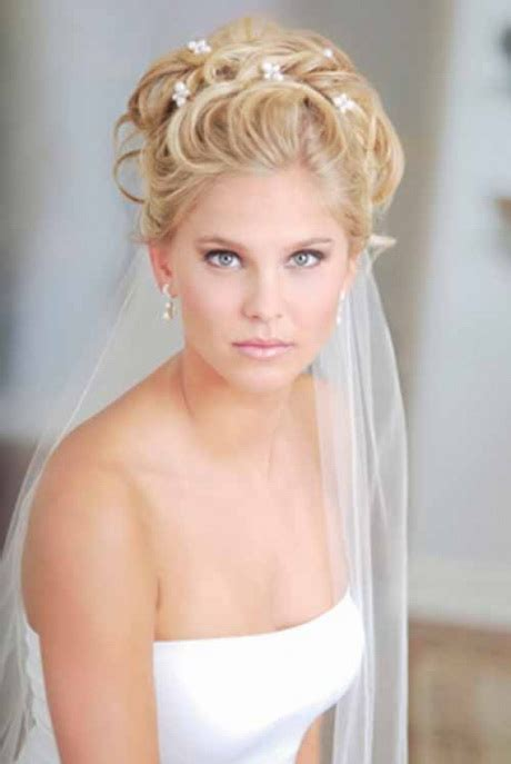 wedding hairstyles curly hair veil wedding hairstyles for long hair with veil