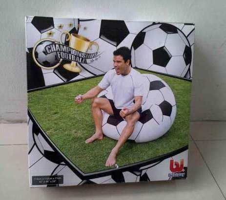 Sofa Angin Bentuk Bola sofa angin model dan motif bola soccer basket kursi