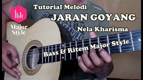 tutorial belajar melodi guitar jaran goyang nella kharisma via vallen tutorial melodi