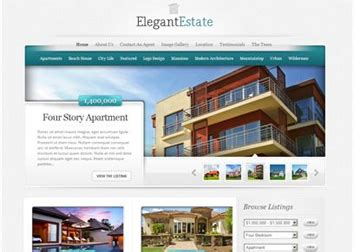 Creative Web Design Web Development Company Los Angeles Real Estate Development Website Templates