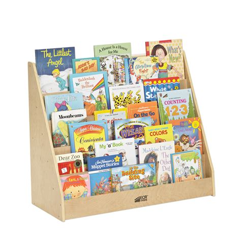 picture book display ecr4kids single sided book display stand reviews wayfair