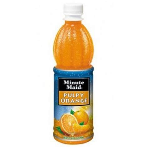 Minute Pulpy Orange Minuman by Minute Pulpy Orange 1 25lt Juices Gomart Pk