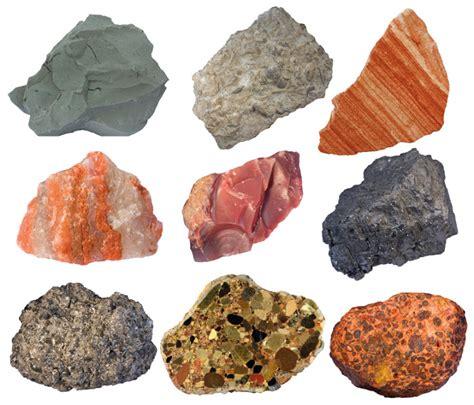 types of rocks sedimentary rocks