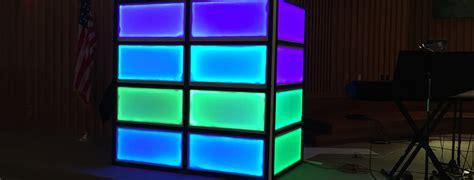 led tv box design led strip boxes church stage design ideas