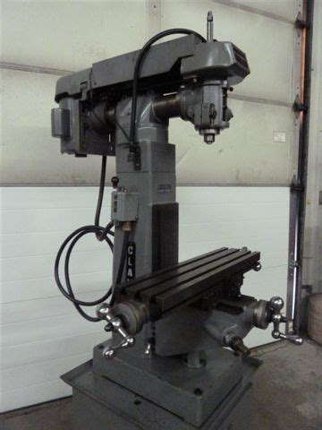 clausing vert mill milling machine