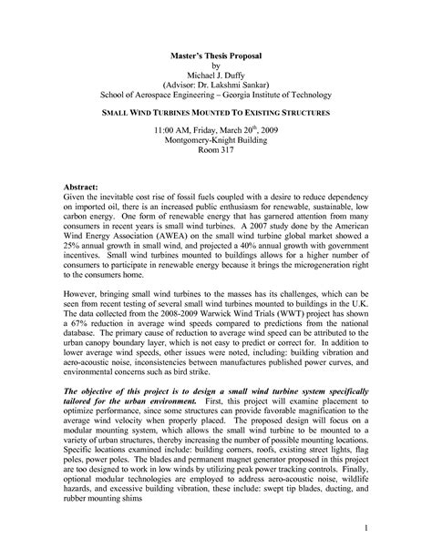 graduate thesis abstract thesis proposal for information technology exle