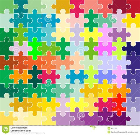 abstract jigsaw pattern jigsaw puzzle pattern royalty free stock photo image