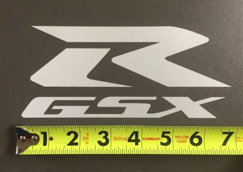 Suzuki Racing Decals Suzuki Racing Gsx R 7 Quot White Reflective Die Cut Decal
