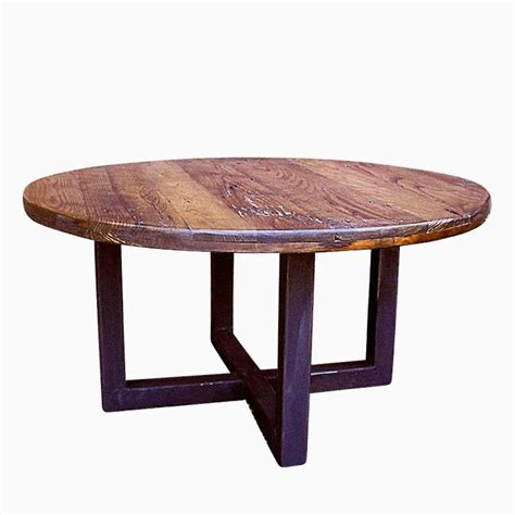 custom reclaimed wood coffee table buy a custom made reclaimed wood wormy chestnut round