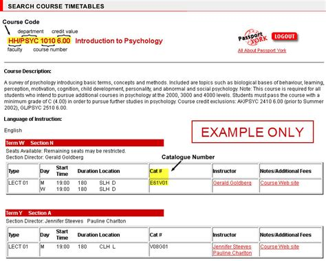 Academic Explanation Letter Yorku Undergraduate Enrolment And Registration Guide Registrar York