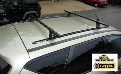 Permanent Roof Rack Installation nissan murano thule roof rack for a bare roof thule