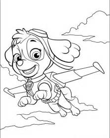 free paw patrols coloring pages
