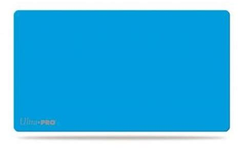 Ultra Pro Solid Light Blue Playmat solid light blue play mat card toys trading