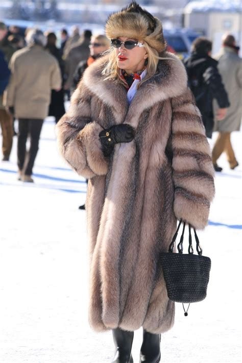 Jacket Morist Ori st moritz chic fox saints fur and