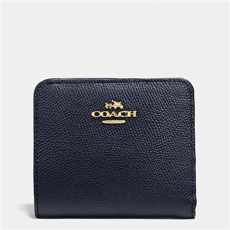 Coach Wallet coach small wallet in colorblock leather in gold light