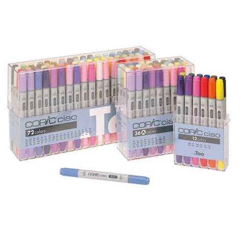 Copic Ciao Set 72 A copic set a ciao marker pack of 72