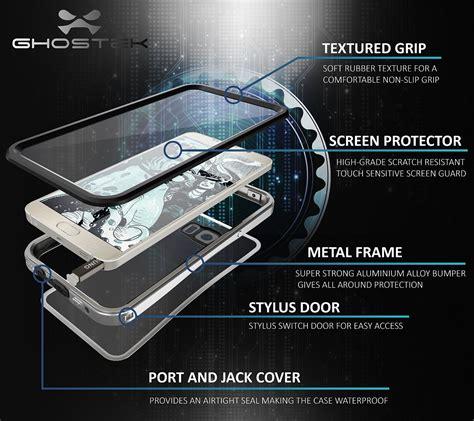 Samsung Note 5 Bumper Heavy Duty Water Resistant Dirtpr Berkualitas ghostek atomic 2 0 series silver for samsung