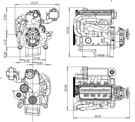 airboat gearbox aeromomentum aircraft engines lsa experimental airboats