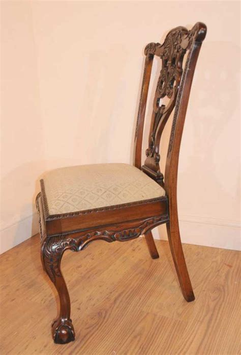 mahogany chippendale dining chairs 10 mahogany chippendale dining chairs chair carved