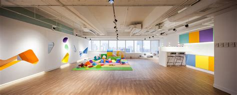 Play School Interior Design Ideas by Modern Design Ideas For Play School The Babysteps Interior By Atelierblur Georges Hung