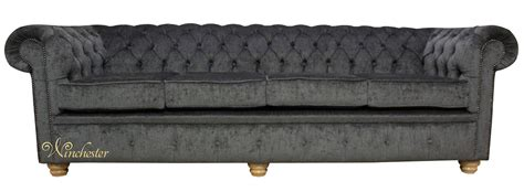 Sofa Minimalist 321 Seats 4 chesterfield 4 seater settee perla dusk velvet fabric sofa offer